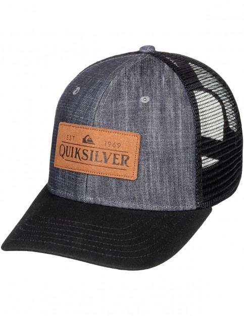 Quiksilver Vine Beater Cap in Black