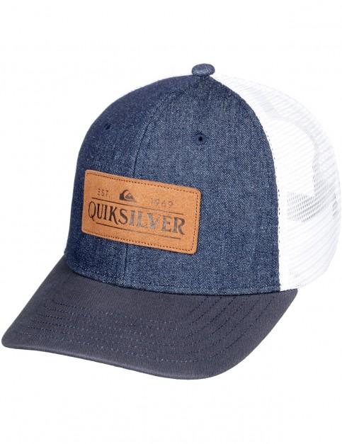 Quiksilver Vine Beater Cap in Navy Blazer