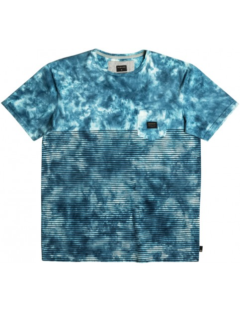 Quiksilver X Bloob Short Sleeve T-Shirt in Estate Blue