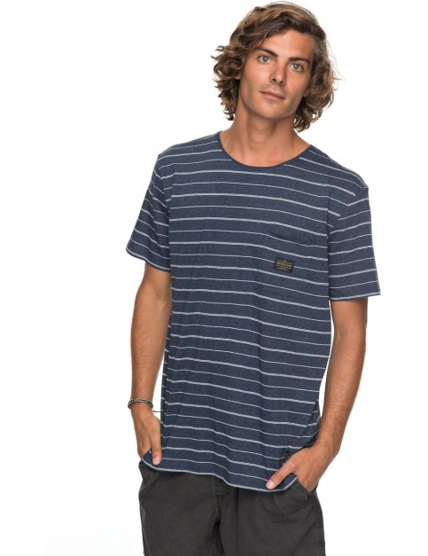 Quiksilver Zermet Short Sleeve T-Shirt in Vintage And Grindle