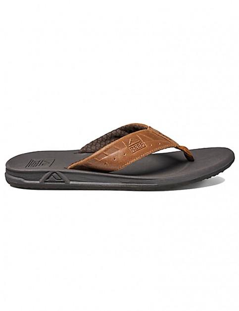 Reef Phantom LE Leather Sandals in Brown/Tan