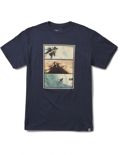 Reef Way Tee Short Sleeve T-Shirt in Navy