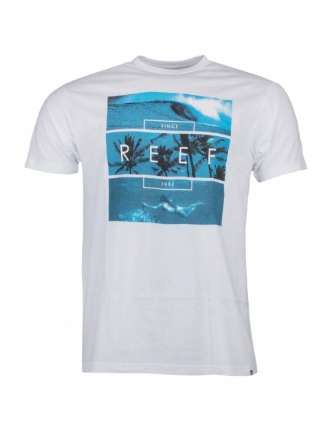 Reef Adventure Short Sleeve T-Shirt in White