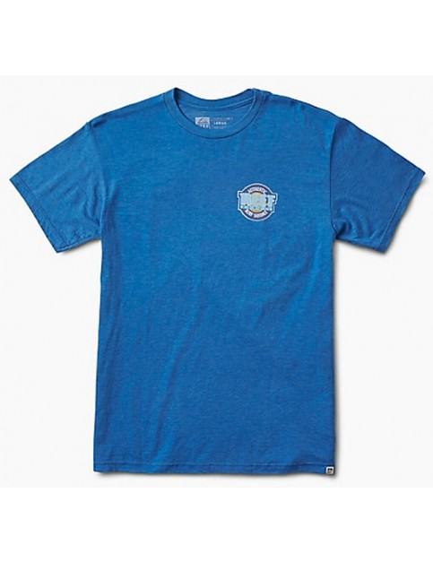 Reef Authentic II Short Sleeve T-Shirt in Royal Heather