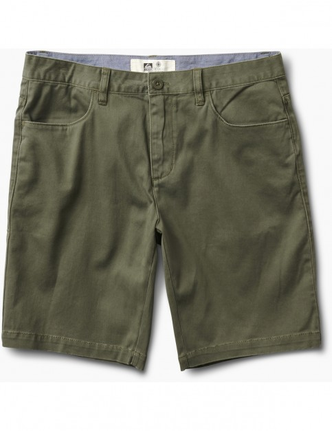 Reef Auto Redial 7 Shorts in Olive