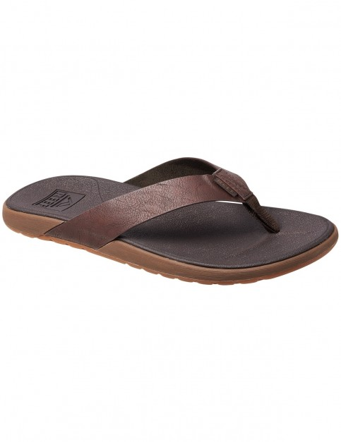 Reef Contoured Voyage Sports Sandals in Brown