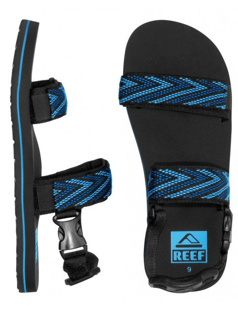 Black/Blue Reef Convertible Sport Sandals