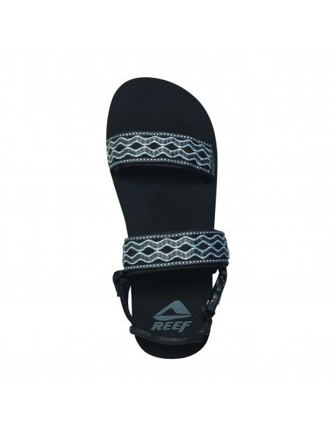 Grey/Black Reef Convertible Sport Sandals