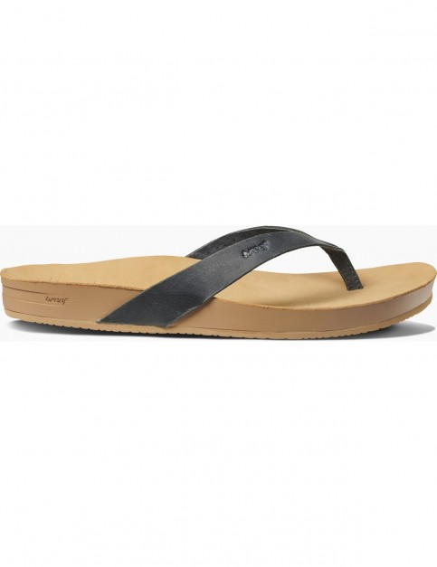 Reef Cushion Bounce Court LE Flip Flops in Black