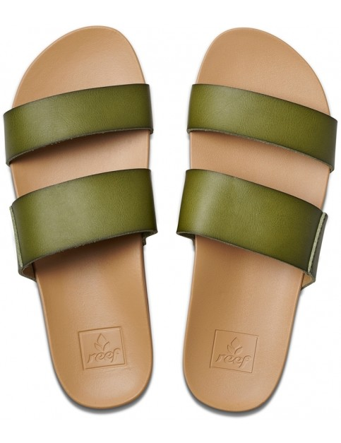 Reef Cushion Bounce Vista Sandals in Olive