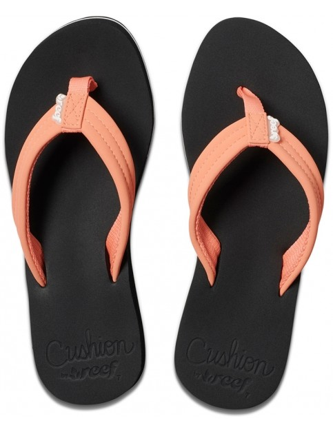 Reef Cushion Breeze Flip Flops in Coral