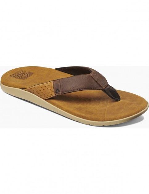 Reef Cushion J-Bay Flip Flops in Brown/Brown
