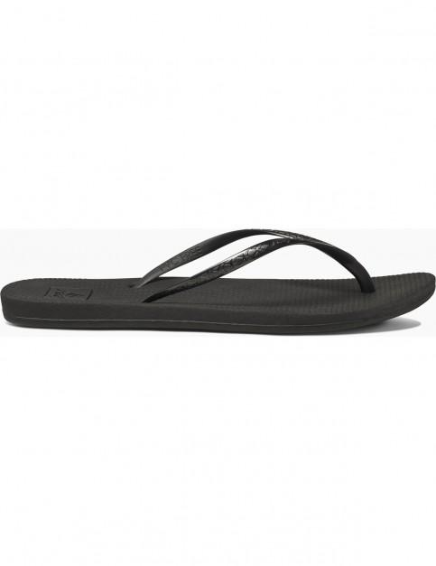 Reef Escape Lux Flip Flops in Black