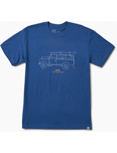 Reef Expedition Tee Short Sleeve T-Shirt in Blue