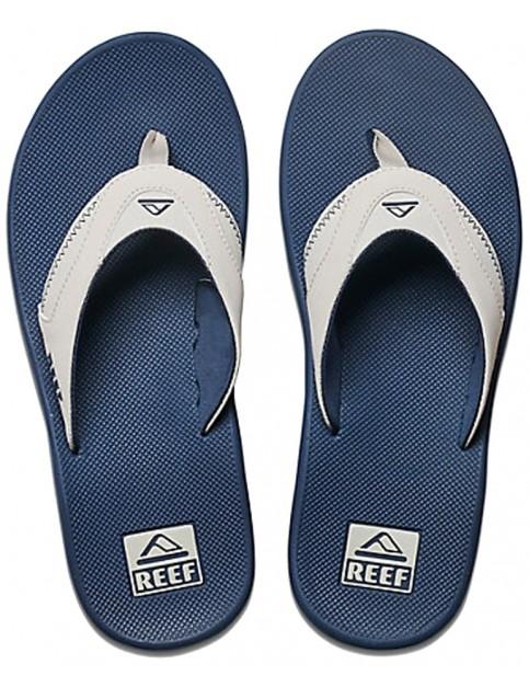 Reef Fanning Flip Flops in Navy/Grey