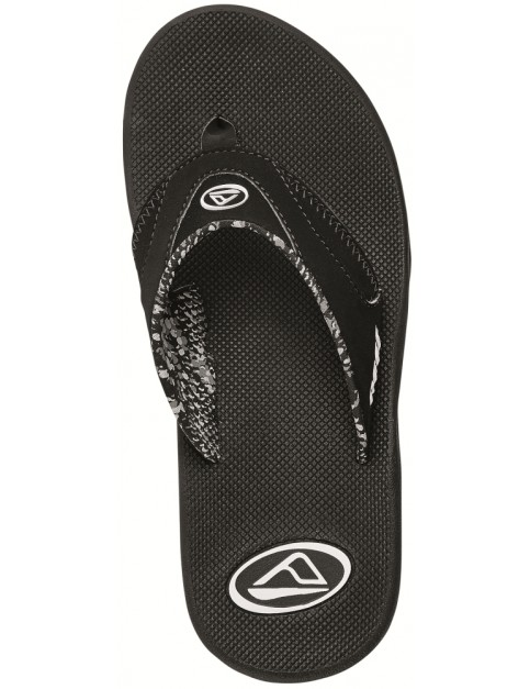 Reef Fanning Flip Flops in Black
