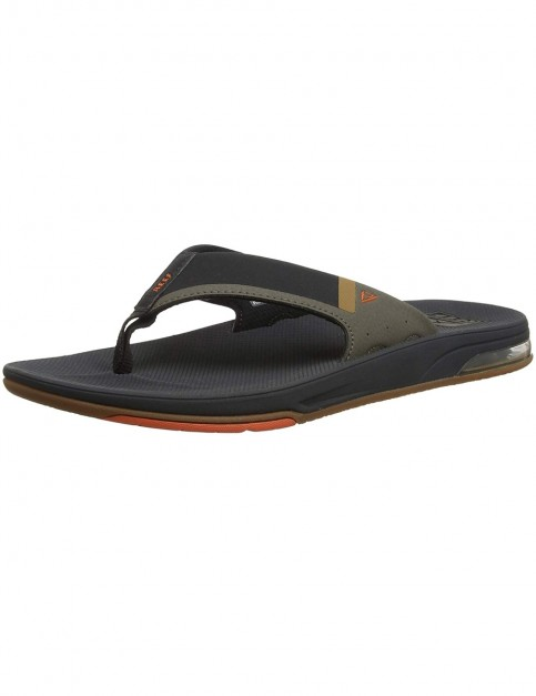 Reef Fanning Low Sandals in Orange/Grey