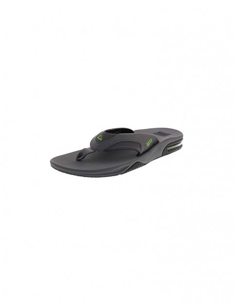 Reef Fanning Sandals in Grey/Black/Glow