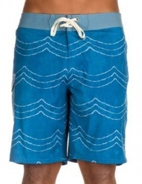 Reef Futures Mid Length Boardshorts in Blue