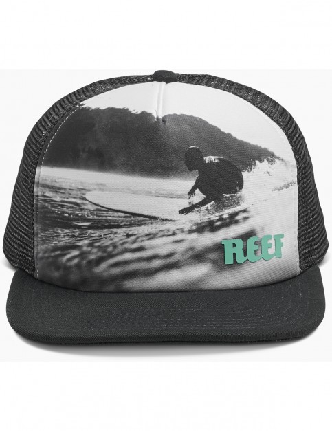 Reef Going Left Cap in Black