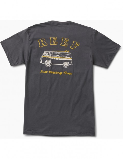 Reef Good Vibe Short Sleeve T-Shirt in Faded Black