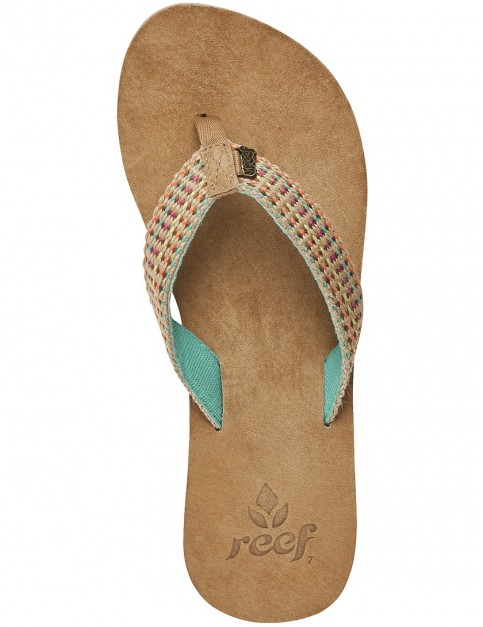 Reef Gypsylove Faux Leather Sandals in Teal