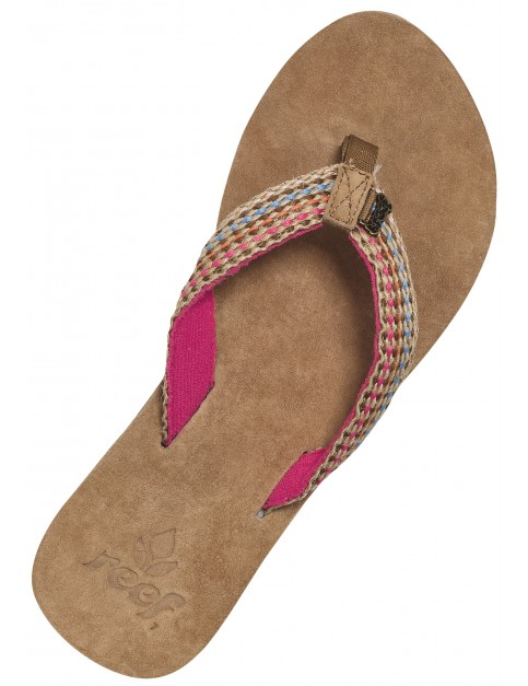 Reef Gypsylove Leather Sandals in Pink