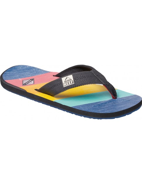 Reef Ht Prints Flip Flops in 70S Blue