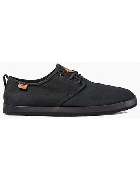Reef Landis Trainers in Black/Black