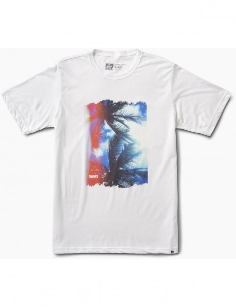 Reef Lense Tee Short Sleeve T-Shirt in White