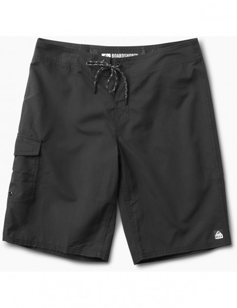 Reef Lucas 3 Mid Length Boardshorts in Black