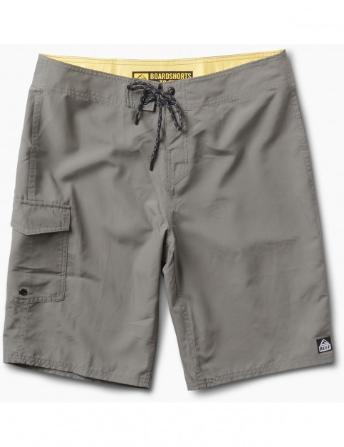 Reef Lucas 3 Mid Length Boardshorts in Grey