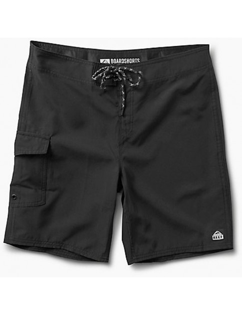 Reef Lucas 3 Shortie Short Boardshorts in Black