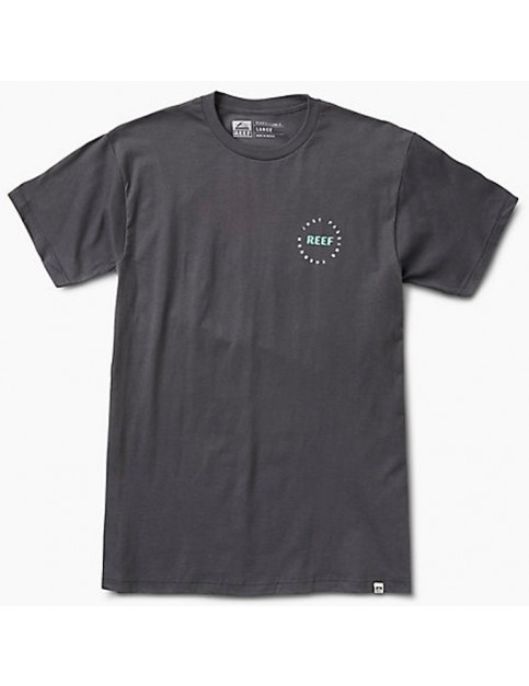 Reef More Aloha Tee Short Sleeve T-Shirt in Faded Black