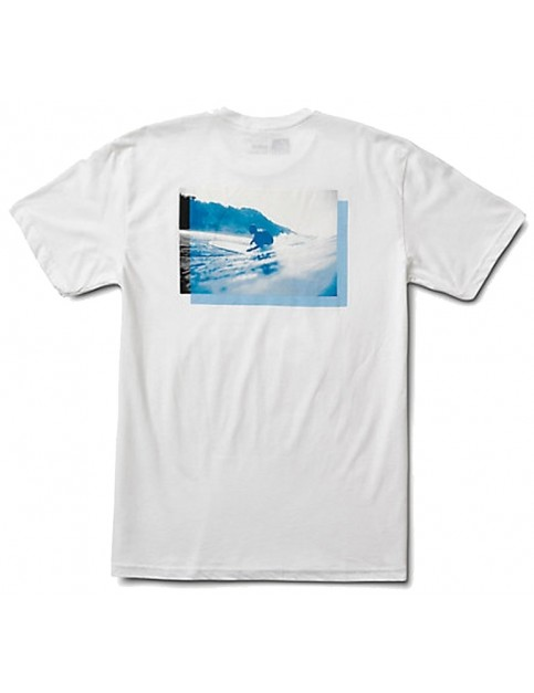 Reef Off Short Sleeve T-Shirt in White