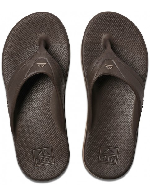 Reef One Flip Flops in Brown
