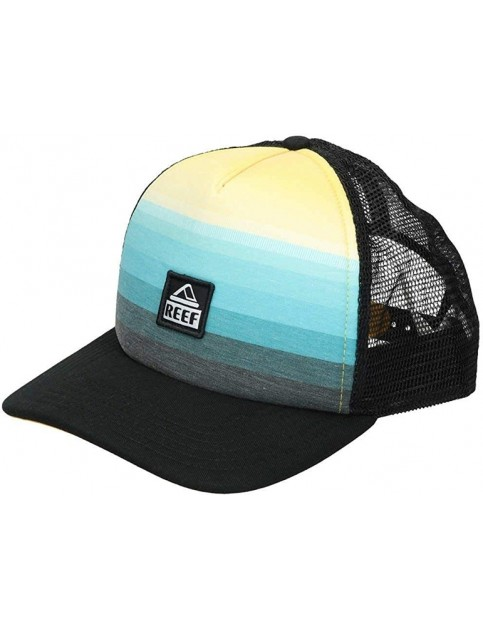 Reef Painted Cap in Aqua