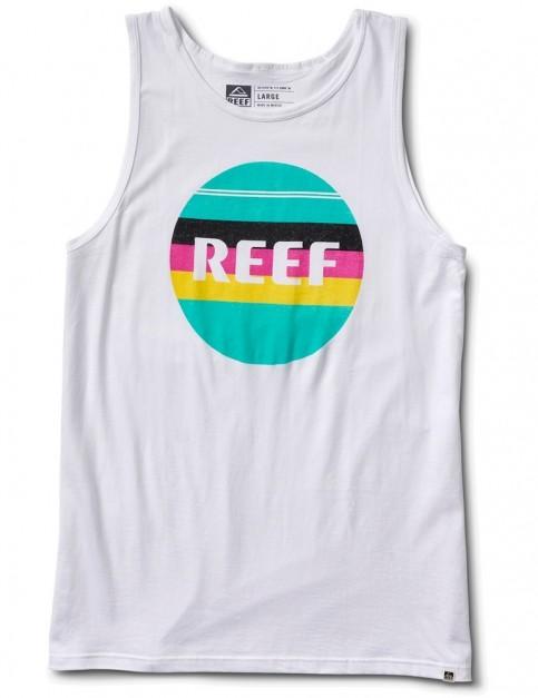 Reef Peeler 2 Sleeveless T-Shirt in White