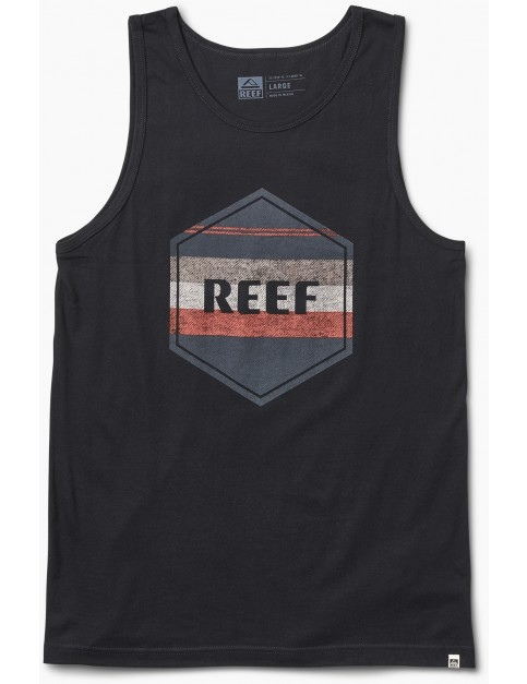Reef Peeler Tank Sleeveless T-Shirt in Black