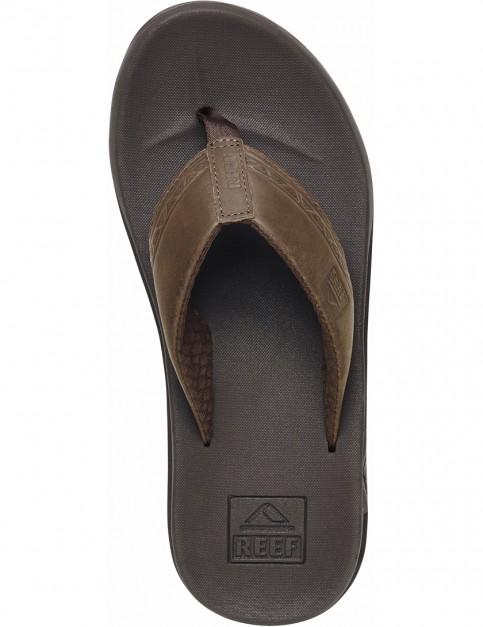 Reef Phantom LE Leather Sandals in Brown/Tribal