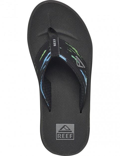 Blue/Green Reef Phantom Prints Sport Sandals