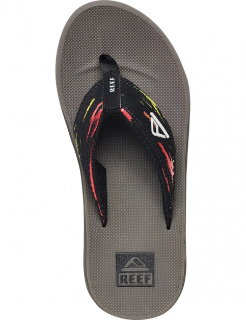 Reef Phantom Prints Sport Sandals in Red/Yellow