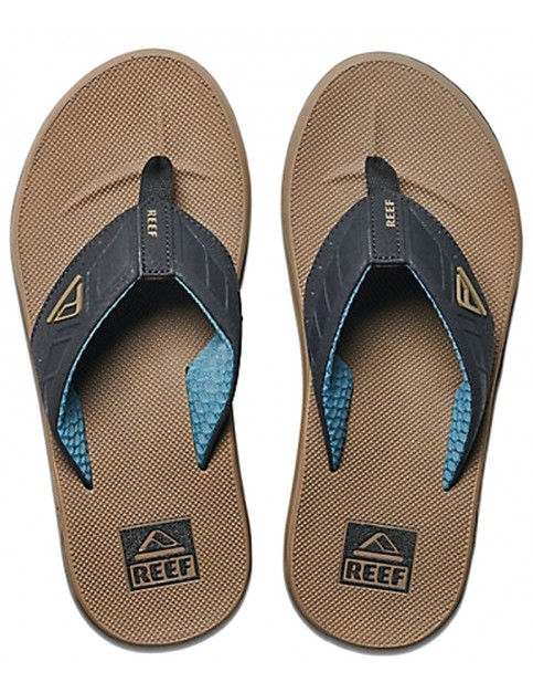 Reef Phantoms Flip Flops in Brown/Black/Blue