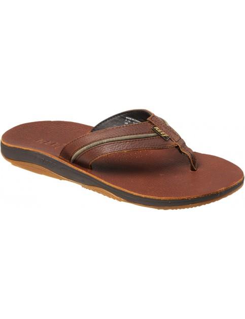 Brown/Hemp Reef Playa Cervesa Leather Sandals