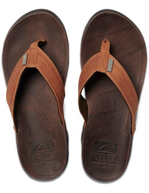 Reef Reef J-Bay III Flip Flops in Coffee/Bronze