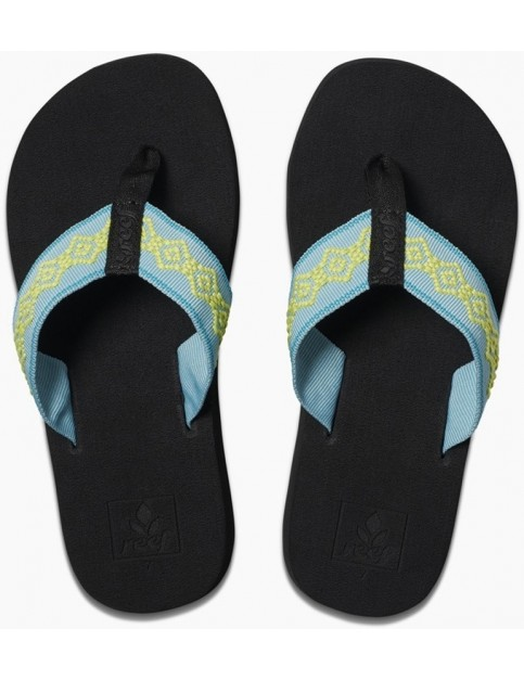 Reef Sandy Flip Flops in Aqua