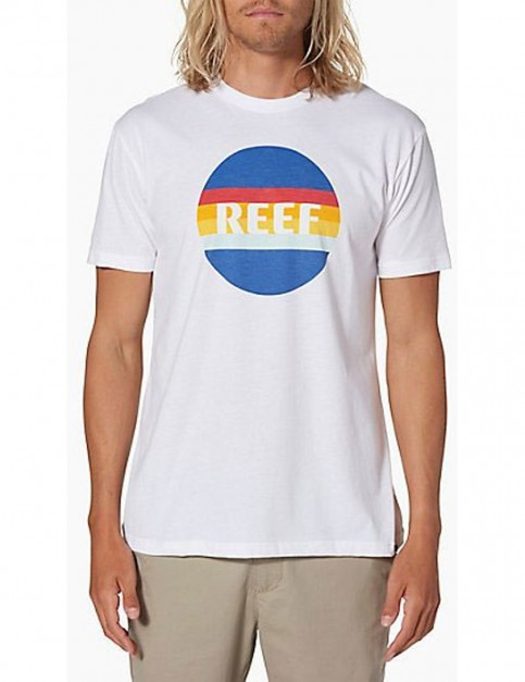 Reef Simple Short Sleeve T-Shirt in White