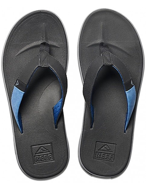 Reef Slammed Rover Flip Flops in Black/Blue