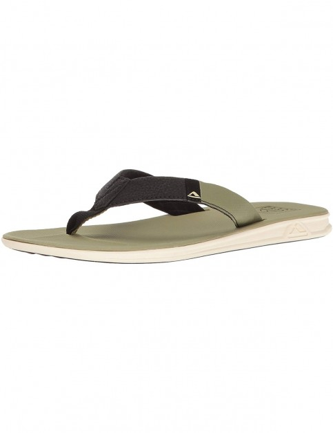Reef Slammed Rover Flip Flops in Dried Herb