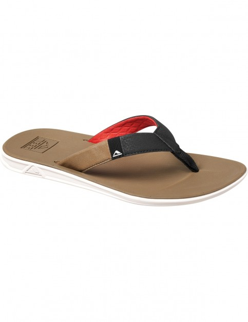 Reef Slammed Rover Sports Sandals in Tan And Red